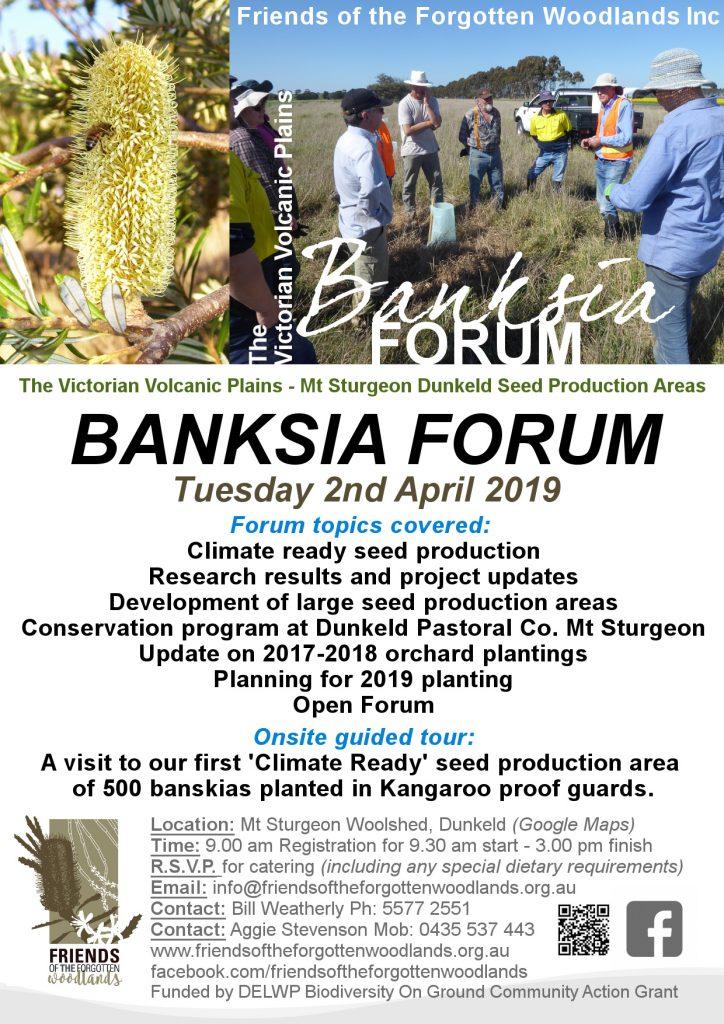 FoFw Banksia Forum 2019